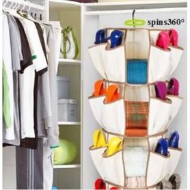Organizador de bolsos y zapatos