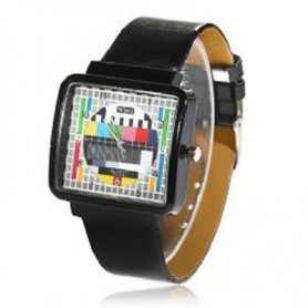 Reloj Carta Ajuste Rectangular