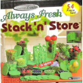 Set 54 Envases Always Fresh Stack n Store