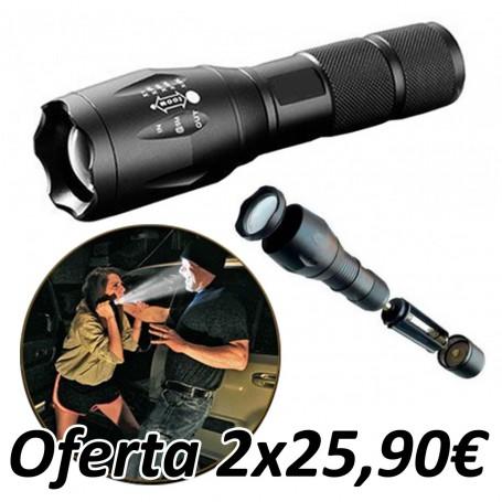 Linterna Militar Light (2 Unidades)
