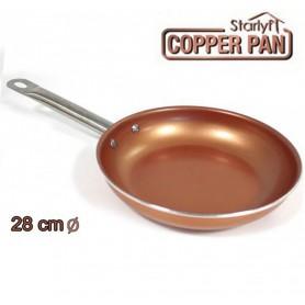 Sartén de Cobre Titanium Copper 28cm