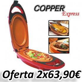 Sartén eléctrica Copper Express