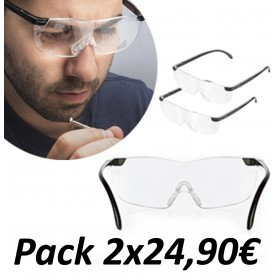 Gafas de aumento Zoom (Pack 2 Unidades)
