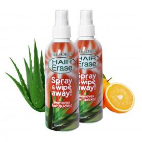 Hair Erase Spray Depilación (2 Unidades)