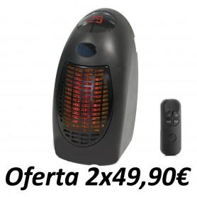 Mini Calefactor Rapid Heater con Mando